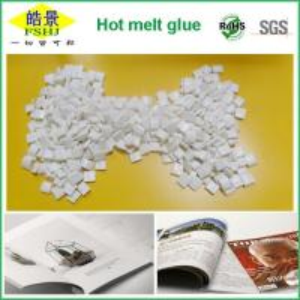 Buy cheap EVA Milk White Hot Melt Glue Pellets High Soften Point Adhesive Hot Melt For Bookbinding from Wholesalers