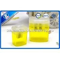 Buy cheap Custom Transparent Plastic Pencil Sharpener Single Hole Box Shaped from wholesalers