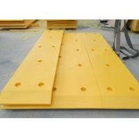 Buy cheap Plastic UHMWPE Marine Fender Pad , Yellow Color Marine Dock Bumper Pads from wholesalers