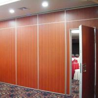 Buy cheap Wooden Soundproof Folding Office Partition Walls Singapore / Movable Partition Wall Systems from wholesalers