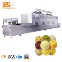 Buy cheap Automatic Tunnel Microwave Vacuum Drying Equipment Egetables Grains Seasoning Microwave Dryer from wholesalers