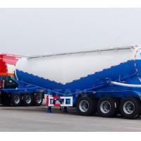 Buy cheap TITAN VEHICLE Bulk Cement Bulker Transporter Tank Tanker Semi Trailer with 3 axle from wholesalers