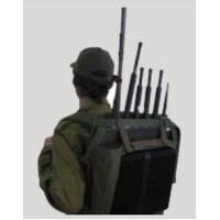 Buy cheap 5 Band 75w Manpack Portable Cell Phone Signal Jammer For Army / Police from wholesalers