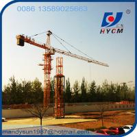 Buy cheap Algerie Popular 4t Small Tower Crane from wholesalers