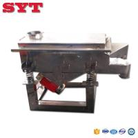 Buy cheap Best price linear Vibrator Screen/ sieve/ sifter machine from wholesalers