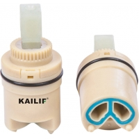 Buy cheap 25mm Shower Mixer Taps Valve Side Outlet Ceramic Cartridge With Foot from wholesalers
