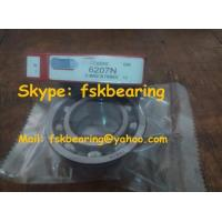 Buy cheap 6207N  Bearings Stap Groove Single Row Open Type C3 P6 from wholesalers