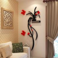 Buy cheap Fashion Beautiful Flowers Bedroom wallpaper for living room 3d flower wall stickers decal from wholesalers