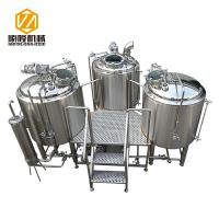 12HL Large Scale Brewing Equipment 3 Phases Stainless Steel CE Certificated