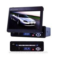 Buy cheap 9.5 inch portable dvd player with fm tuner support SD/MMC card reader from wholesalers