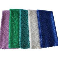 Buy cheap High quality tulle laces fabric for wedding dress wholesale teal new tulle lace from wholesalers