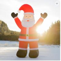 Buy cheap Advertising Inflatable Christmas Figures UV Resistant For Christmas Decoration from wholesalers