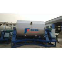 Buy cheap Food Spiral Horizontal Ribbon Feed Mixer 3315x1300x1800mm Real Stone Paint Machine from wholesalers