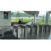 Buy cheap Bridge turnstile with RFID/finger print for factory time attendance and security control product