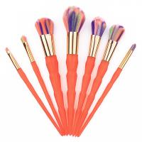 Buy cheap 7 Pcs Orange Thread Face Makeup Brush Kit Nylon Hair Material from wholesalers