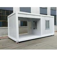 Buy cheap Hot Dip Galvanized Premade Mobile Homes , Factory Made Cargo Container Cabin from wholesalers