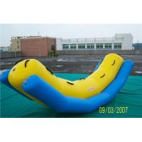 Buy cheap Swimming Pool Inflatable Water Games Equipment Inflatable Banana Boat For Rides from wholesalers