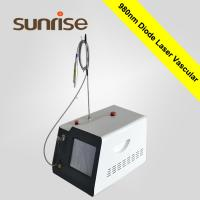 Buy cheap sunrise 980nm vascular removal machine home use Diode Laser for veins removal machine from wholesalers