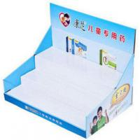 Buy cheap 200G Craft paper POP Cardboard Display Counter For Ball Pens , UV Coating from wholesalers