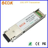 Buy cheap Hot-pluggable 10G XFP Transceivers SMF 10KM LC Connecter product