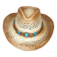Buy cheap Western Cowboy Hat with Turquoise from wholesalers