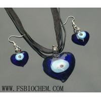Buy cheap Murano Glass Pendant Necklace Earring Jewelry Set from wholesalers