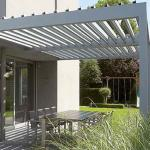 Buy cheap Automatic retractable sliding and folding waterproof terrace roof aluminum pergola from wholesalers