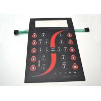 Buy cheap Customized Tactile Membrane Switch Keyboard With Clear Display Window 165x227mm from wholesalers