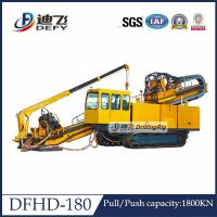 Buy cheap Underground Pipeline Laying DFHD-180 Horizontal Directional Drilling HDD Rig from wholesalers