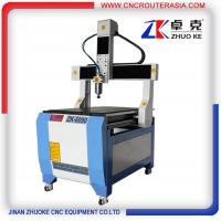 Buy cheap Yaskawa servo system Z 350mm Cheap small wood cnc engraver cutter ZK-6090-2.2KW product