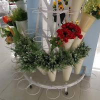 Buy cheap Mobile Flower Display Rack L*W*H 900*900*1500 size 800set/40HQ Loading Quantity from wholesalers