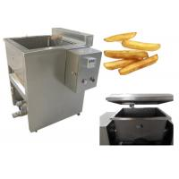 Buy cheap 160kg Industrial Deep Fat Fryer , High Speed Potato Chips Frying Machine from wholesalers