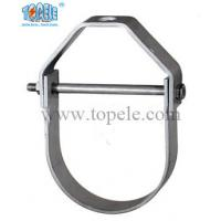 Buy cheap Heavy Duty Galvanized Steel Pipe Clamps Clevis Hanger With UL Standard from wholesalers