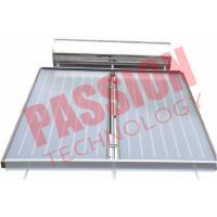 Buy cheap Pressurized Flat Plate Solar Water Heater Rooftop Intelligent Controller from wholesalers