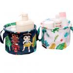 Buy cheap Folding fabric jute canvas decorative desk storage basket box from wholesalers