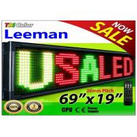 Buy cheap Outdoor Programmable LED Signs Multi Language , Wireless LED Scrolling Message Display Board from wholesalers