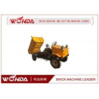 Buy cheap No Pollution Electric Delivery TricycleMini Dumper For Brick Transfer 60-80km/h Speed from wholesalers