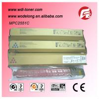 Quality compatible mpc2051 color copier toner cartridge for Ricoh Aficio MPC 2051/2551 for sale