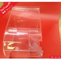 Buy cheap Square Laser Engraving Plastic Candy Box With Spoon Acrylic Stylish from wholesalers