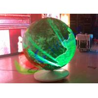 Buy cheap Sphere Led Video Panels Diameter 1500mm , Global LED Video Ball For Event from wholesalers