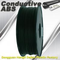 Buy cheap Good elasticity universal ABS Conductive 3d Printer Filament in Black product