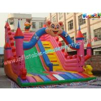 Buy cheap Outdoor Durable Cute Inflatable Commercial Inflatable Slide, jumping slide for rental product