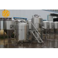 Buy cheap Plate Heat Exchanger Commercial Beer Making Equipment 10BBL Brewhouse Specs Available from wholesalers