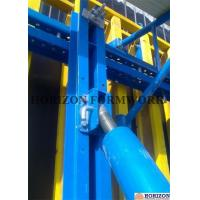 Buy cheap Q235 Steel Channel Single Sided Wall Formwork Supported By Telescopic Brace product