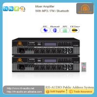 Buy cheap RH-AUDIO Electrical Equipment BGM Mini Amplifier with Bluetooth FM Radio Signal USB Port from wholesalers
