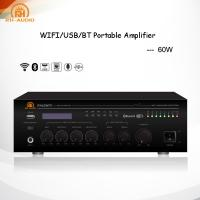 Buy cheap RH-AUDIO Compact 60W Wifi Signal Amplifier with Mic Paging/Mixing for Home Theater from wholesalers