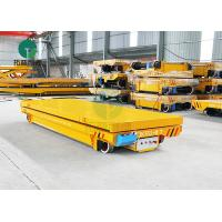 Buy cheap 5 Ton Conductor Rail Powered Steerable Transfer Carts With Hydraulic Lifting Platform from wholesalers