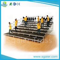 Buy cheap school /church used Portable aluminium platform choral riser for sale from wholesalers