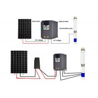 Buy cheap Solar Water Pump Vector Frequency Inverter With PV DC Voltage Booster from wholesalers