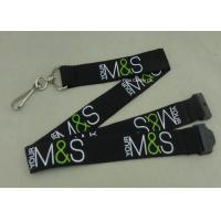 China Custom Company Woven Lanyard Holder Sublimation Ribbon For Fair Show ID Card on sale